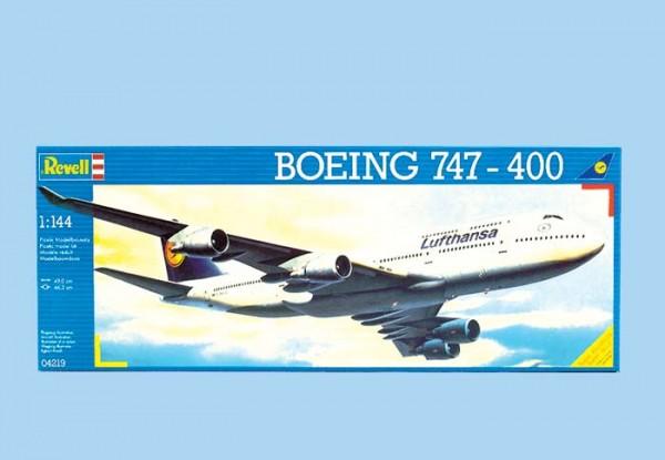 Revell 04219 - Boing 747-400 Lufthansa - Bausatz