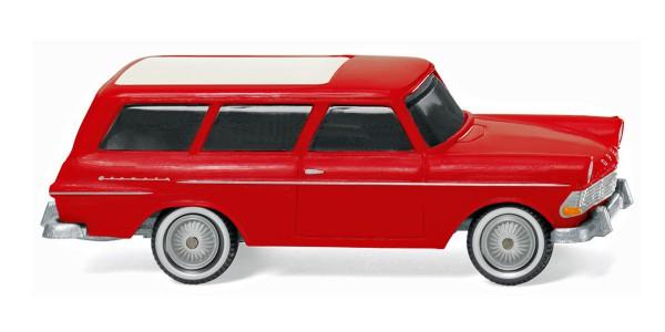 Wiking 007149 - Opel Rekord ´61 Caravan - rot - 1:87