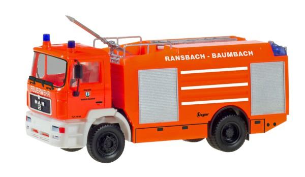 """Herpa 094528 - MAN M 90 Tanklöschfahrzeug """"Feuerwehr Ransbach-Baumbach"""" - 1:87"""