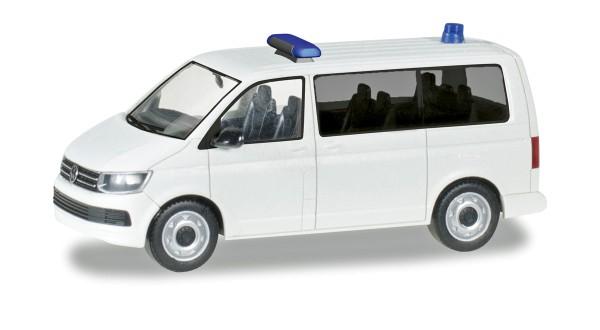 Herpa 012904 - Herpa MiniKit: VW T6 Bus, weiß - 1:87
