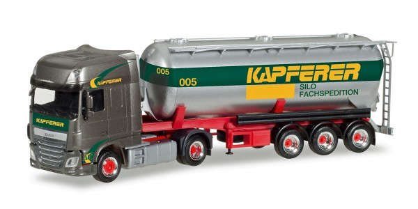 "Herpa 308076 - DAF XF SSC Silo-Sattelzug ""Anton Kapferer"" - 1:87"