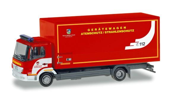"""Herpa 094580 - Mercedes-Benz Atego Koffer-LKW """"Feuerwehr Eschwege / Atemschutz"""" - 1:87"""