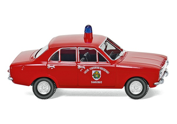 """Wiking 086130 - Feuerwehr - Ford Escort """"Saarlouis"""" - 1:87"""