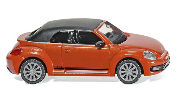 Wiking 002848 - VW The Beetle Cabrio (geschlossen)- habanero orang metallic - 1:87