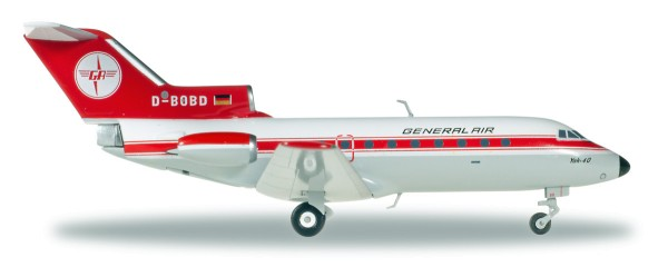 Herpa Wings 558358 - General Air Yakovlev Yak-40 - 1:200