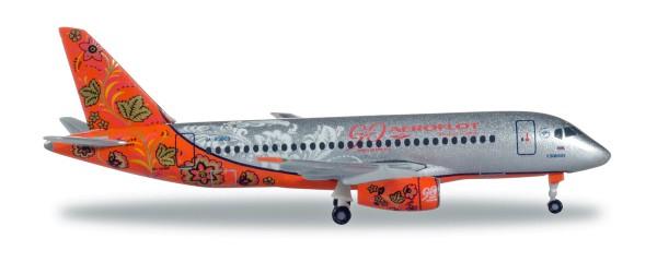 "Herpa Wings 531160 - Aeroflot Sukhoi Superjet SSJ-100 ""90th Anniversary"" - RA-89009 - 1:500"