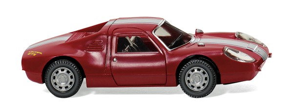 Wiking 016301 - Porsche 904 Carrera GTS - purpurrot - 1:87