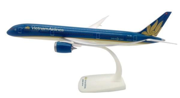 Herpa Wings 612005 - Vietnam Airlines Boeing 787-9 Dreamliner - 1:200 - Snap-Fit