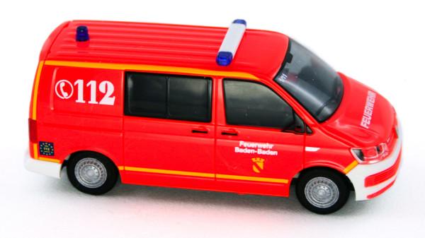 Rietze 53713 - Volkswagen T6 Feuerwehr Baden-Baden - 1:87