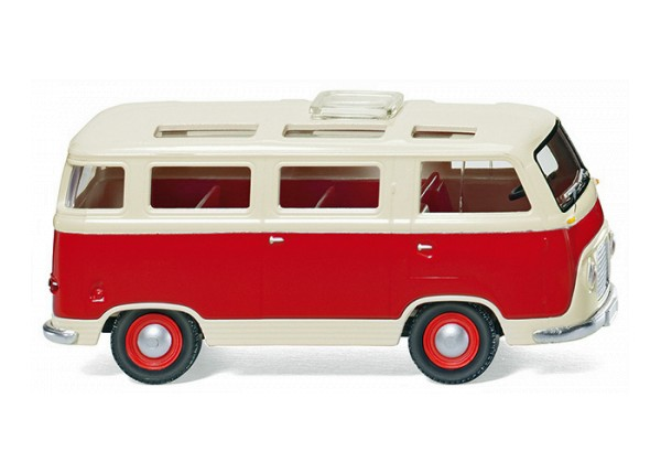 Wiking 028998 - Ford FK 1000 Panoramabus - rot/cremeweiß - 1:87