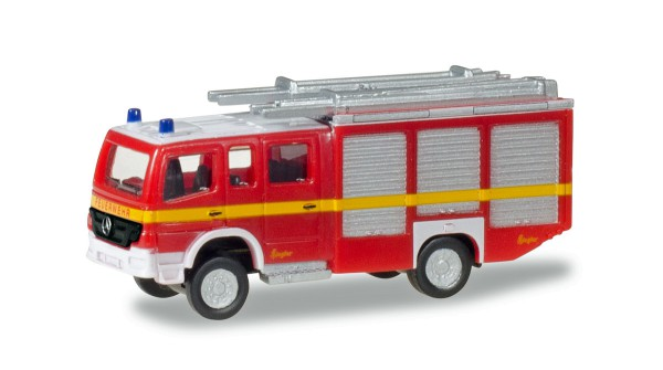 """Herpa 066747 - Mercedes-Benz Atego HLF 20 """"Feuerwehr"""", dekoriert - 1:160"""