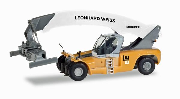 """Herpa 308274 - Liebherr Reachstacker LRS 645 """"Leonhard Weiss"""" - 1:87"""