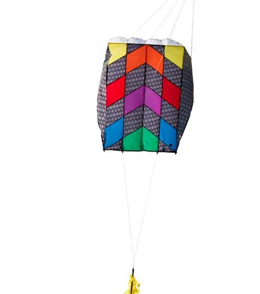Invento-HQ Parafoil 5 Carbon Rainbow - Einleiner (57 x 75 cm) - R2F