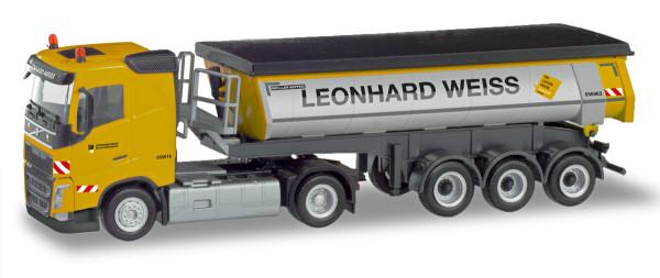 """Herpa 311045 - Volvo FH Thermomulden-Sattelzug """"Leonhard Weiss"""" - 1:87"""
