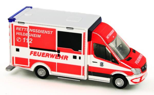 Rietze 72045 - WAS Design-RTW Berufsfeuerwehr Hildesheim - 1:87