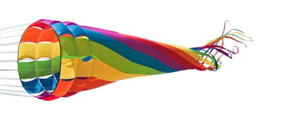 Invento-HQ Windspiel Wind Turbine Rainbow (500 x 86 cm)