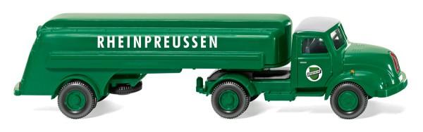 "Wiking 080049 - Tanksattelzug (Magirus S 3500) ""Rheinpreussen"" - 1:87"