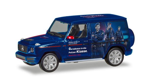"""Herpa 094757 - Mercedes-Benz G-Modell """"Polizei Österreich"""" - 1:87"""