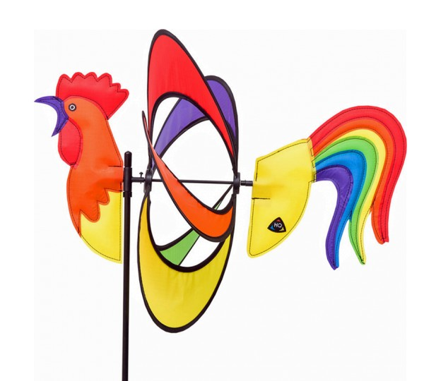 Invento-HQ Windspiel Paradise Critter Rooster - Hahn (39 x 97 cm)