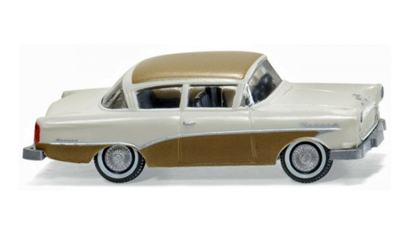 "Wiking 0080 40 - Opel Rekord ""Ascona"" cremegold 1957 - H0"