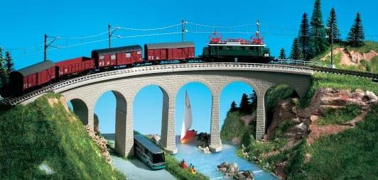 Kibri 37664 (7664) - Semmering-Viadukt eingleisig - N