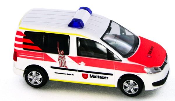 Rietze 52912 - Volkswagen Caddy ´11 Malteser Lippe - 1:87