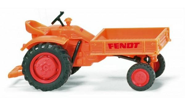 Wiking 0899 41 - Fendt Geräteträger orange - H0