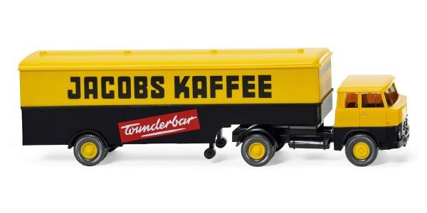 """Wiking 051321 - Koffersattelzug (Henschel HS 14/16) """"Jacobs Kaffee"""" - 1:87"""