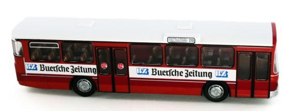 Rietze 74314 - Mercedes-Benz O 305 Frecker Reisen - Buersche Zeitung - 1:87