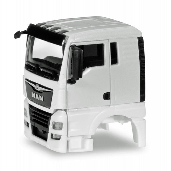 Herpa 084772 - Fahrerhaus MAN TGX XL Euro 6c ohne Windleitblech Inhalt: 2 Stück - 1:87