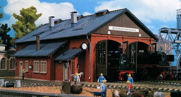 Vollmer 45753 - Lokschuppen 2-ständig - H0 (5753)
