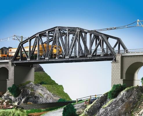 Kibri 39700 (9700) - Stahlbogenbrücke eingleisig - H0