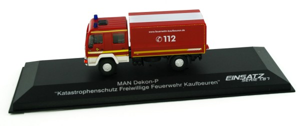 Rietze 68039 - MAN Dekon-P Katastrophenschutz FW Kaufbeuren, - 1:87 - Einsatzserie