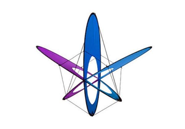 EO Atom Ice - Einleiner von Prism (Spannweite: 47 cm) - R2F