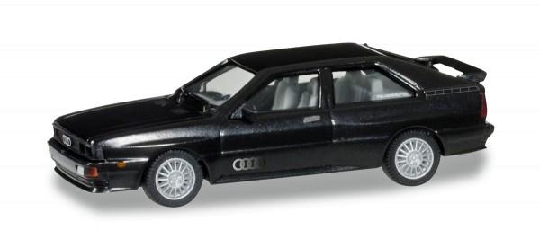 herpa 033336-003 - Audi Ur-Quattro, havannaschwarz metallic - 1:87