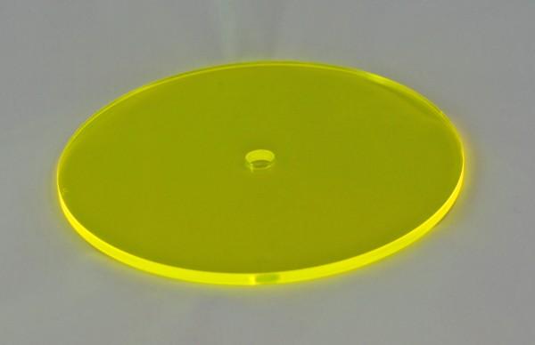 Lichtzauber Sonnenfänger - Scheibe klein, Ø 10 cm, gelb (Elliot 1019024)