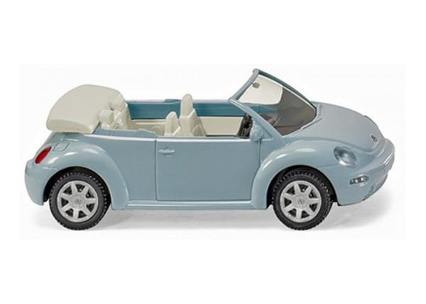 Wiking 0032 04 - VW New Beetle Cabrio aquariusblue metallic - H0