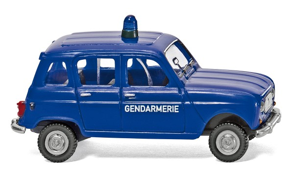 Wiking 022404 - Gendarmerie - Renault R4 - 1:87