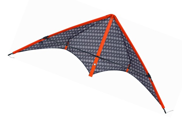 Invento-HQ Lenkdrachen Stormy Pete Graphite R2F (140 x 62 cm)