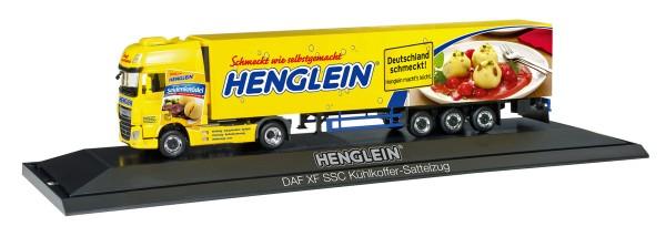 "Herpa 121736 - DAF XF SSC Euro 6 Kühlkoffer-Sattelzug ""Henglein"", PC - 1:87"