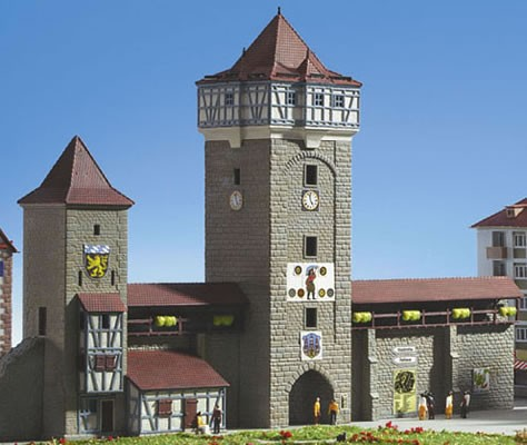 Kibri 37362 - Stadtmauer mit Fachwerkturm - N