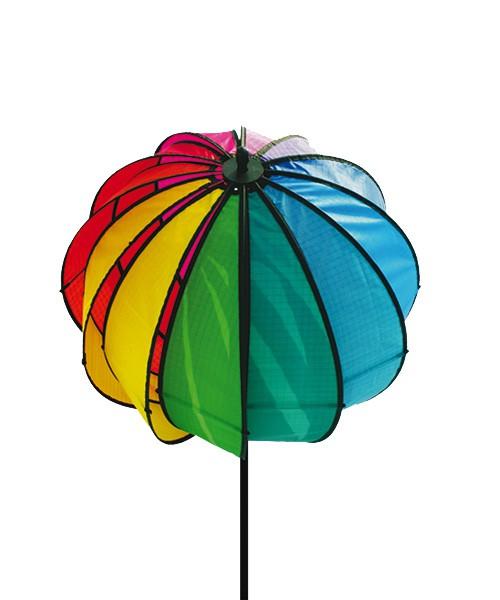 Colours in Motion - Windspiel Satorn 45 Rainbow - Ø 45 x 145 cm