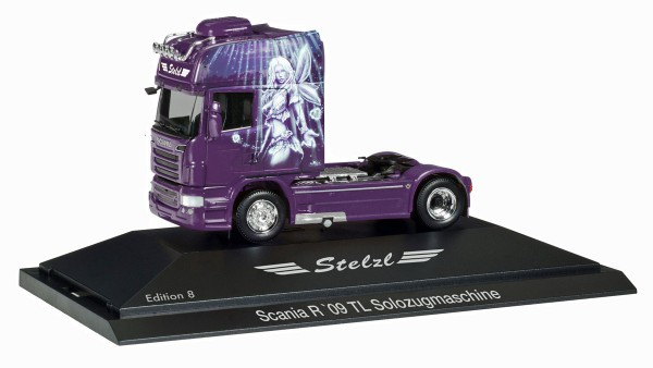 "Herpa 110921 - Scania R TL Zugmaschine ""Stelzl, Edition 8"", PC - 1:87"