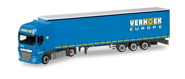 """Herpa 308229 - DAF XF SSC Lowliner-Sattelzug """"Verhoek"""" (NL) - 1:87"""