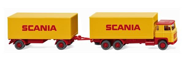 "Wiking 045702 - Kofferhängerzug (Scania 111) ""SCANIA"" - 1:87"