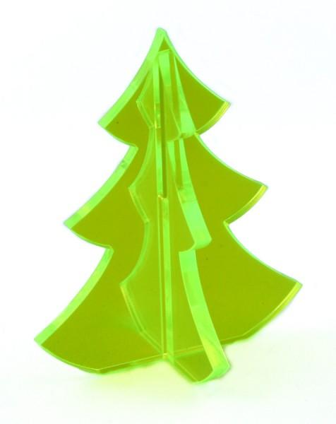 Lichtzauber 3D-Tannenbaum midi 6 cm, grün, stehend (Elliot 1020331)