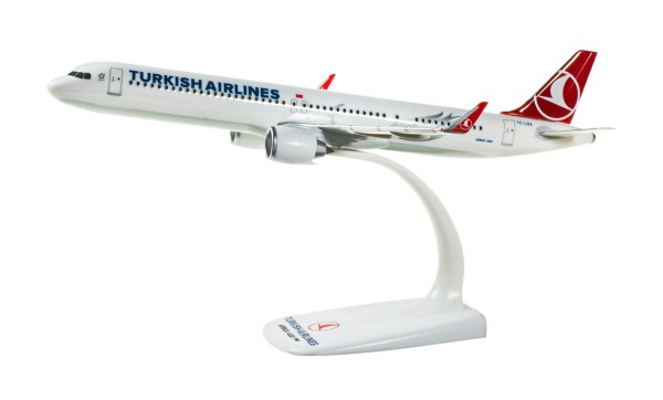 Herpa Wings 612210 - Turkish Airlines Airbus A321neo - TC-LSA - 1:200 - Snap-Fit