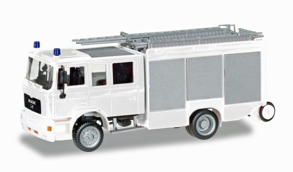 """Herpa 012898 - Herpa MiniKit: MAN M2000 Löschfahrzeug HLF 20 """"Feuerwehr"""" - 1:87"""