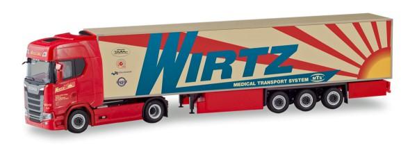 "Herpa 310420 - Scania CS 20 HD Kühlkoffer-Sattelzug ""Wirtz"" - 1:87"