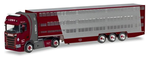 """Herpa 309264 - Scania CS Hochdach Viehtransporter """"Nisch"""" - 1:87"""